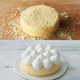 チーズケーキ食べ比べ